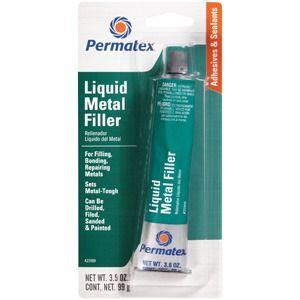 Permatex Liquid Metal Filler 99 g. (Folyékony fém) 12 db