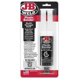 J-B Weld Plastic Bonder fekete színű 25 ml.