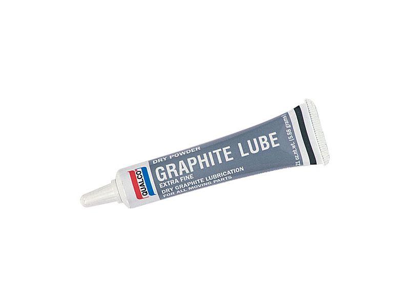 Qualco Dry Graphite Lube zár ápoló por 5,88 g.
