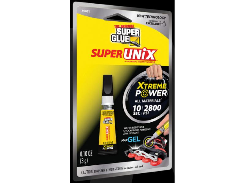 Super Unix újgenerációs pillanatragasztó gél 3 g.